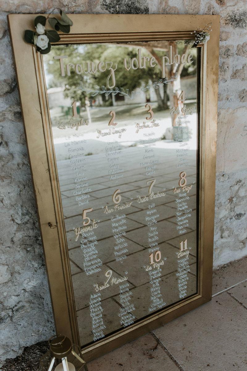 Mariage-naturel-et-vegetal-plan-de-table-miroir-studio-aloki