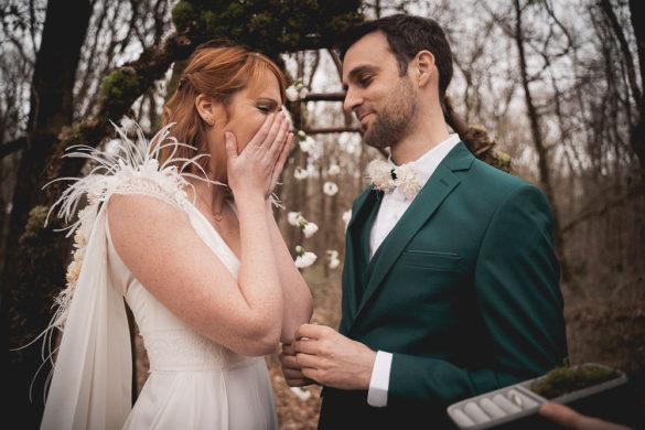 Mariage dans les bois ceremonie laique studio aloki